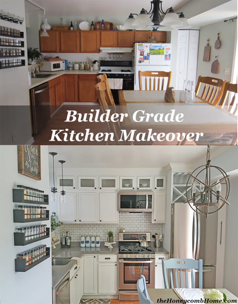 Kitchen Transformation Before And After: A Stroll Thru Life: 318th Inspire Me Tuesday