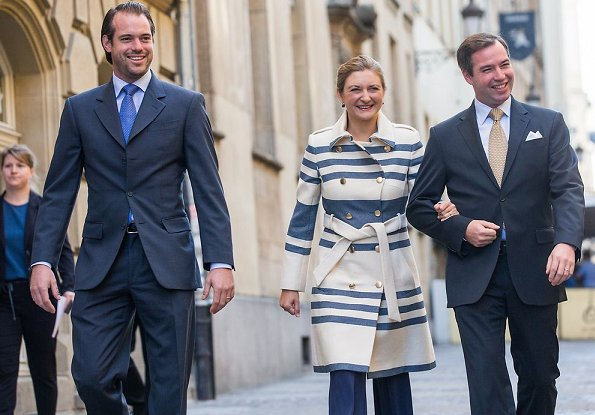 Prince Guillaume and Princess Stephanie attended Home and Living Expo 2018. the Hereditary Grand Couple voted in General Elections 2018