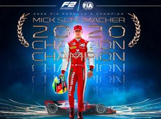 Mick Schumacher campeon mundo F2 2020