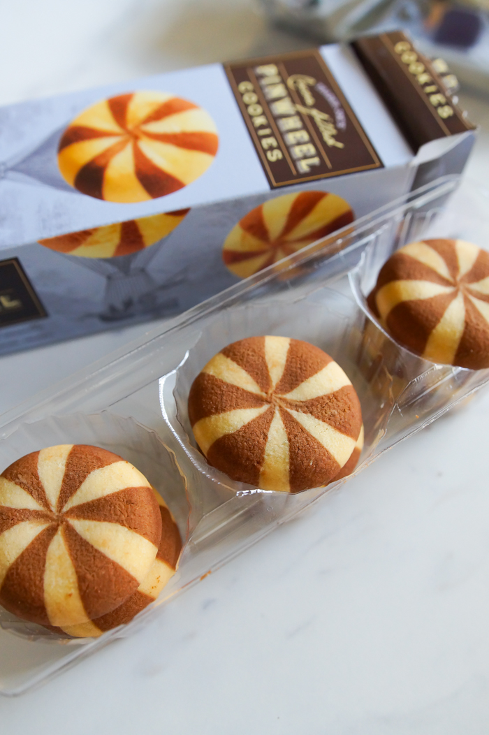 Trader Joe's Cocoa-Filled Pinwheel Cookies review | weekly review series from bakeat350.net