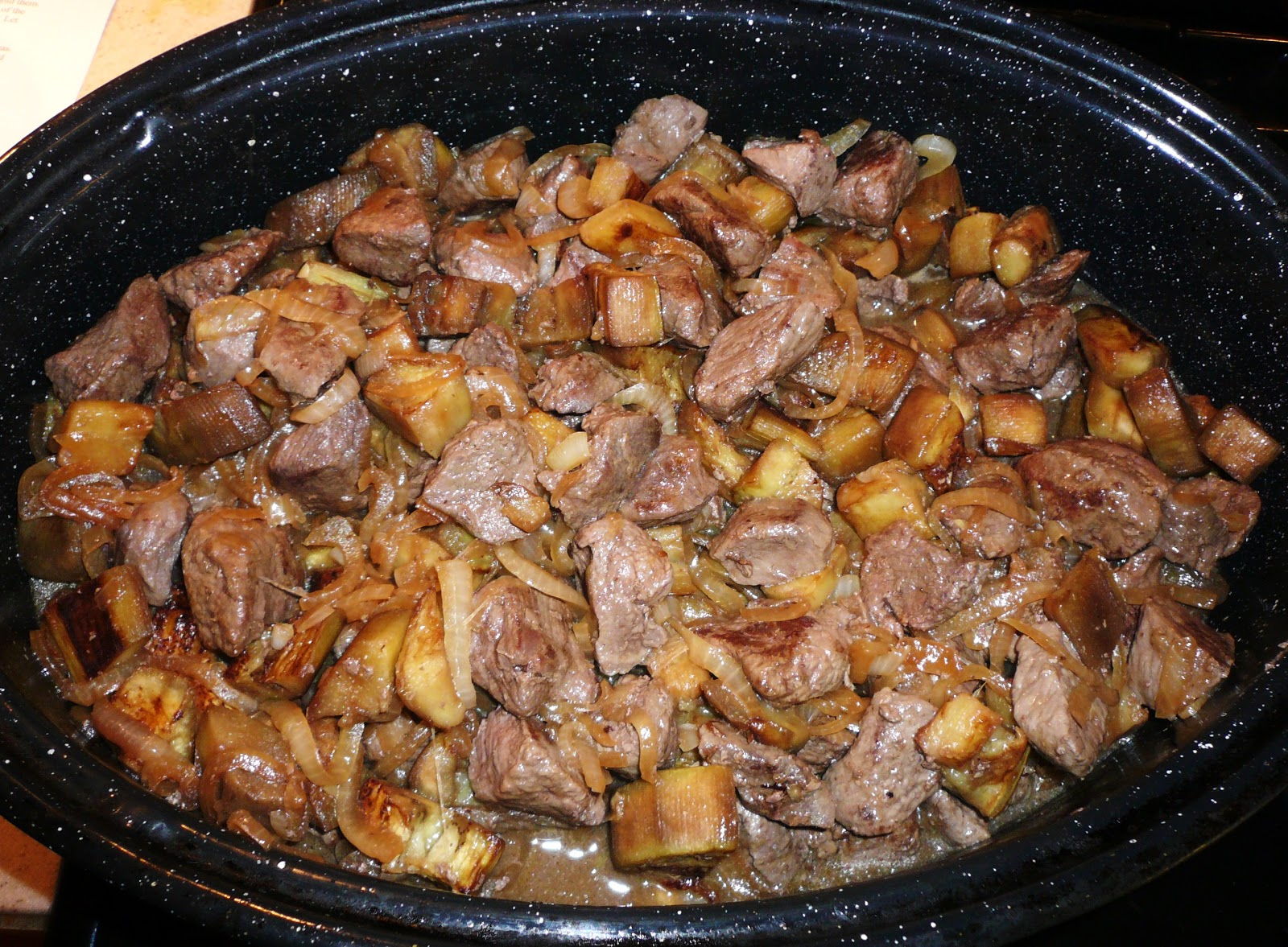 KITCHEN EXCURSIONS: Lamb and Eggplant Casserole