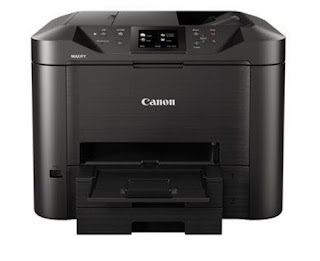 Fi as well as Ethernet association as well as unmarried move out 2 Canon MAXIFY MB5455 Drivers, Review And Price