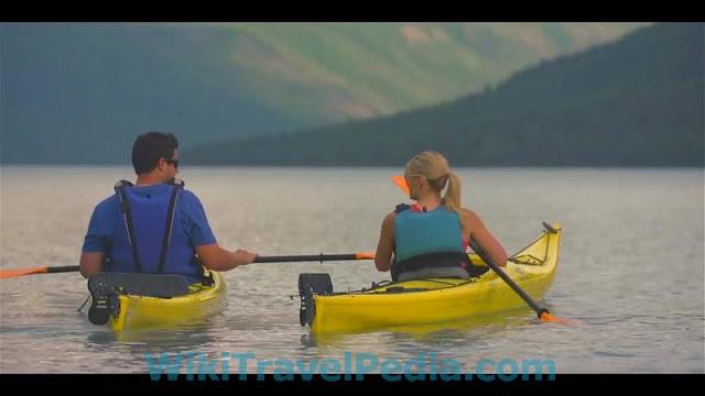Kayakin in Anchorage Alaska