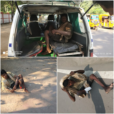 Poor Man Helped By DLSA For Hospital Treatment Jabalpur Madhya Pradesh