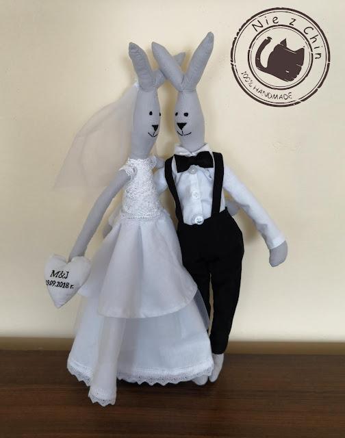 Ślubne króliczki