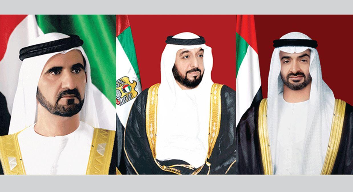 القيادة في دولة الإمارات تعزي الرئيس المصري في ضحايا حادث قطاري الصعيد