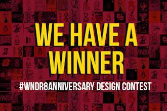 Pengumuman Pemenang WNDR 8 Anniversary Design Contest
