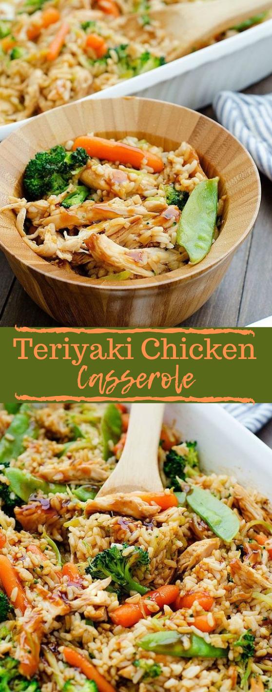 Teriyaki Chicken Casserole #dinner #healthyrecipes #teriyaki #cauliflower #easy