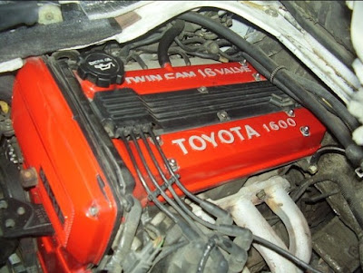 1987-1989 Toyota 1600 4A-GE Twin Cam 16-valve