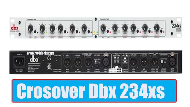 Crossover Dbx 234xs original