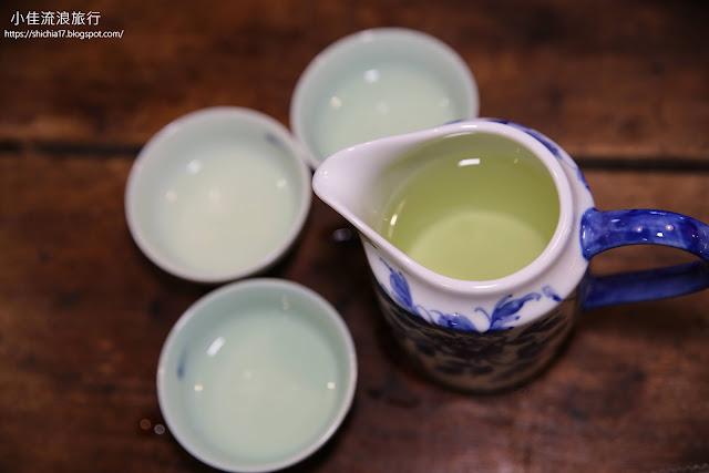 冷泡包種茶