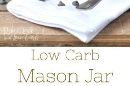LOW CARB CHOCOLATE MASON JAR ICE CREAM
