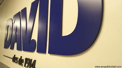 letras en PVC para pared