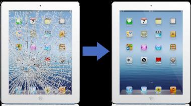 iPad Cam Değişimi