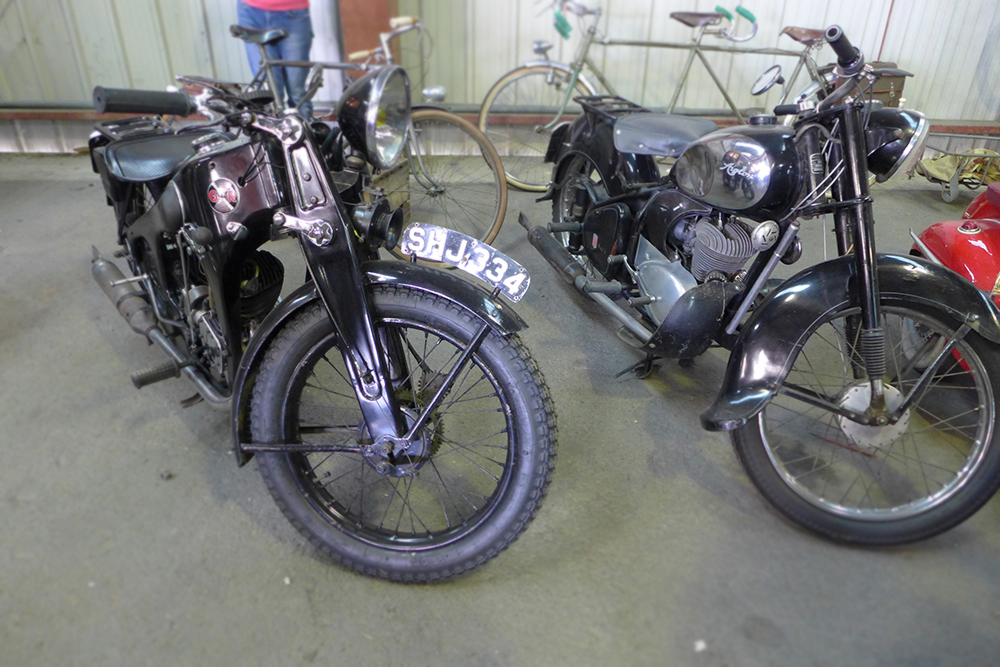 moto ancienne historique guerre salon so vintage niort