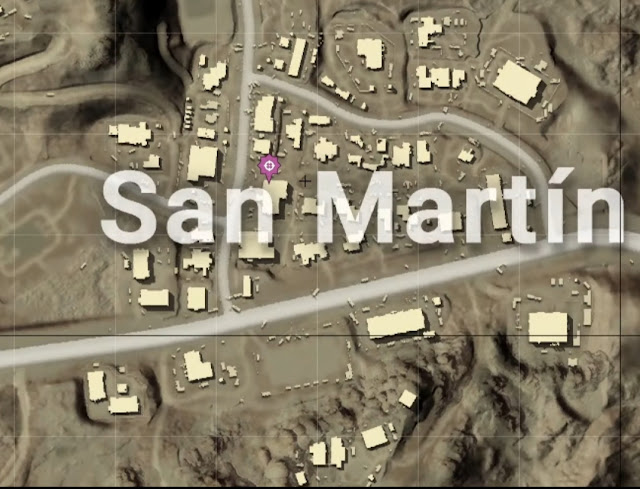 المكان الاول منطقه Martin San