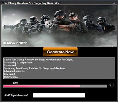 Tom Clancy Rainbow Six Siege Key - Free Game Cheats