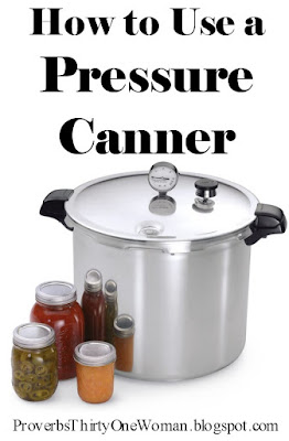 pressure canner instructions