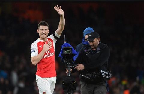 Koscielny giờ đây là một trong những trụ cột quan trọng của Arsenal