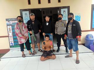 Remaja Tanggung Curi HP Diwarkop, Ditangkap Polisi