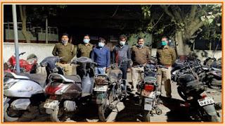 कानपुर: थाना चकेरी पुलिस टीम द्वारा 2 अभियुक्तों को गिरफ्तार किया