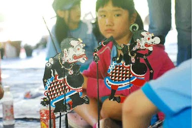 Playing Wayang