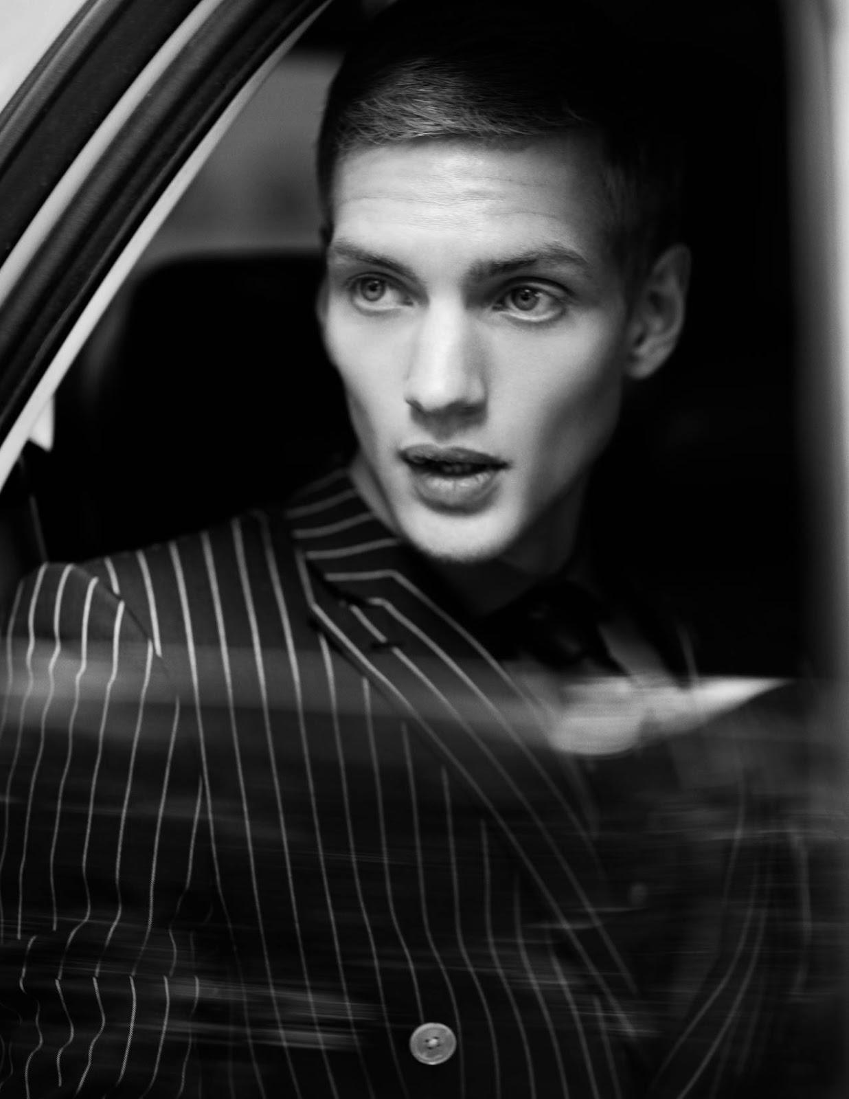 Male Model Otaku: Paul Boche by Alexandra Leese | Client Style Guide USA