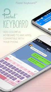 Pastel Keyboard Themes Color on the App Store