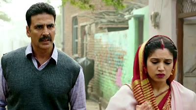 Akshay Kumar & Bhumi Pednekar Nice Couple HD Wallpaper