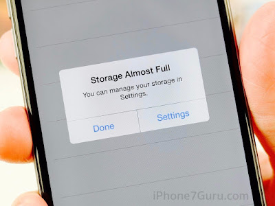 iPhone Storage Problem Solution