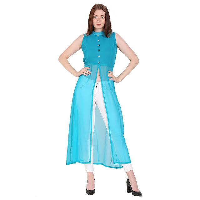 High Neck Cape Dress
