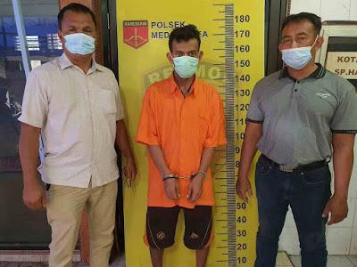 Tim Unit Reskrim Polsek Medan Area Tangkap Satu Pelaku Kawanan Sindikat Curanmor