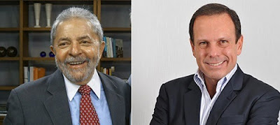 """Lula """"tem direito de peregrinar e visitar o Brasil"""", diz Doria"""