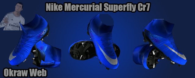 54561fd0993 PES 2013 Blue Nike Mercurial Superfly IV Cristiano Ronaldo Boots 2016
