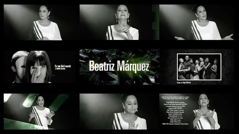 Beatriz Márquez - ¨Es tan fácil mentir¨ (Adolfo Gúzman) - Videoclip - Director: Ángel Alderete. Portal Del Vídeo Clip Cubano. Música cubana. Cuba.