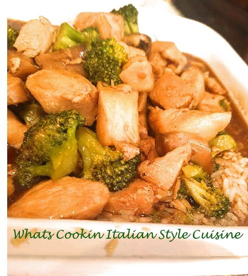 Chinese Chicken And Broccoli Slow Cooker Recipe