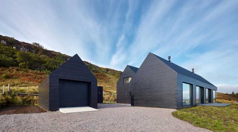 Simple Modern Coastal Home Architecture Designs in Scotland