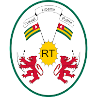 Logo Gambar Lambang Simbol Negara Togo PNG JPG ukuran 200 px