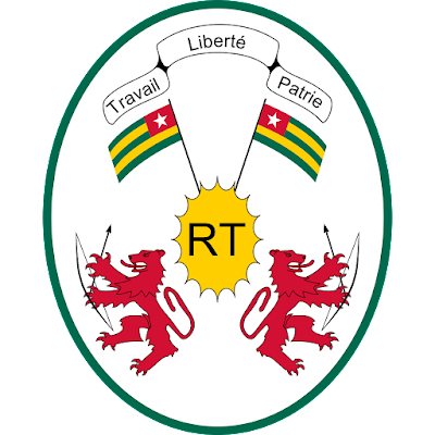 Coat of arms - Flags - Emblem - Logo Gambar Lambang, Simbol, Bendera Negara Togo