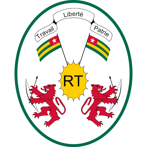 Logo Gambar Lambang Simbol Negara Togo PNG JPG ukuran 600 px