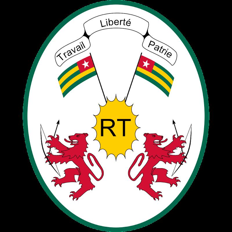Logo Gambar Lambang Simbol Negara Togo PNG JPG ukuran 800 px