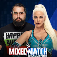 WWE Mixed Match Challenge - Bayley and Finn Balor vs. Alicia Fox and Jinder Mahal plus Jimmy Uso and Naomi vs. Lana and Rusev