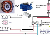 Single Phase Electric Motor Wiring Diagrams