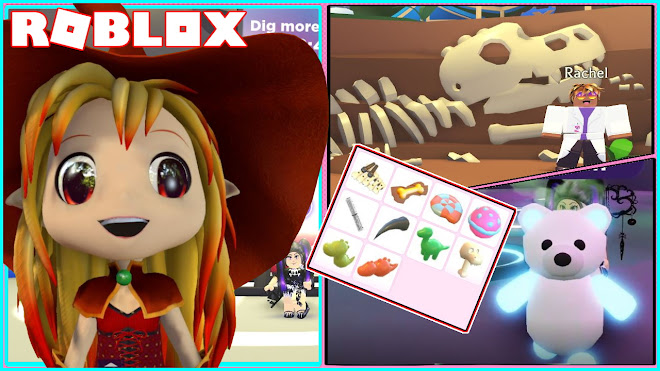 Roblox Adopt Me Event Chloe Tuber Roblox Adopt Me Fossil Isle Event Free Limited Time Accessories And Toys