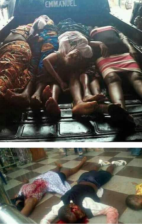 Anambra State Thrown Into Mourning As Ikpeazu condoles Obiano, Anambra people.  (Graphic pictures)