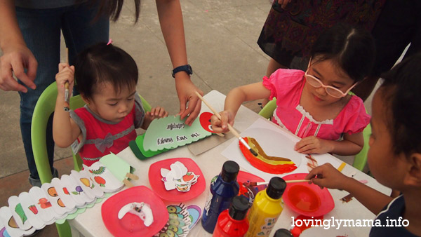 Kidsville - activities for kids - homeschooling - homeschooling in Bacolod - Bacolod City - Bacolod mommy blogger-  talisay city - Negros Occidental - The District North Point - teaching kids - field trip - educational fair - painting