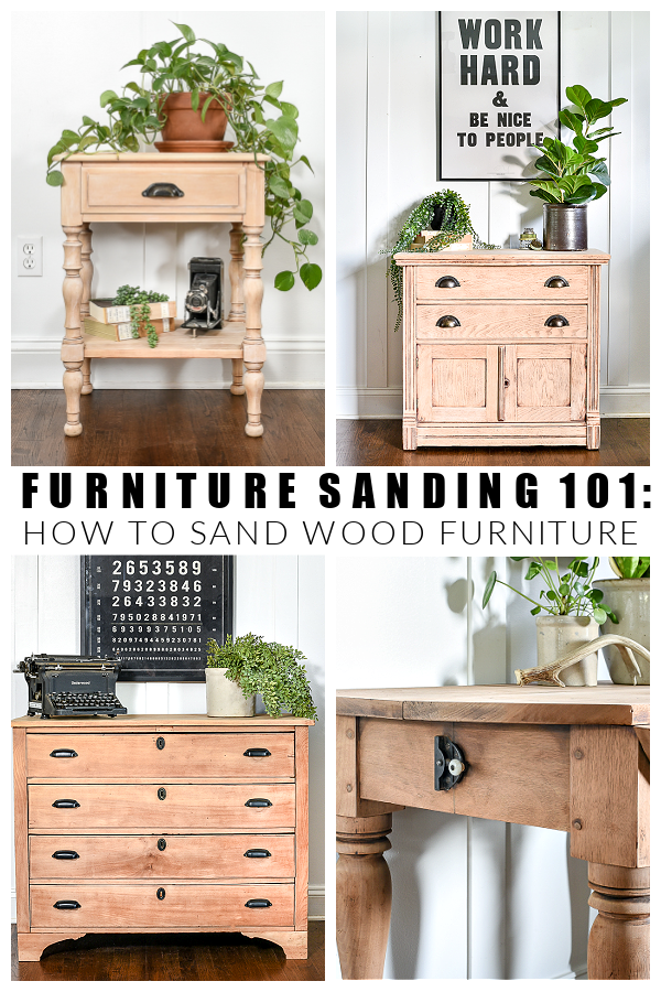 Furniture sanding 101: how to sand wood furniture