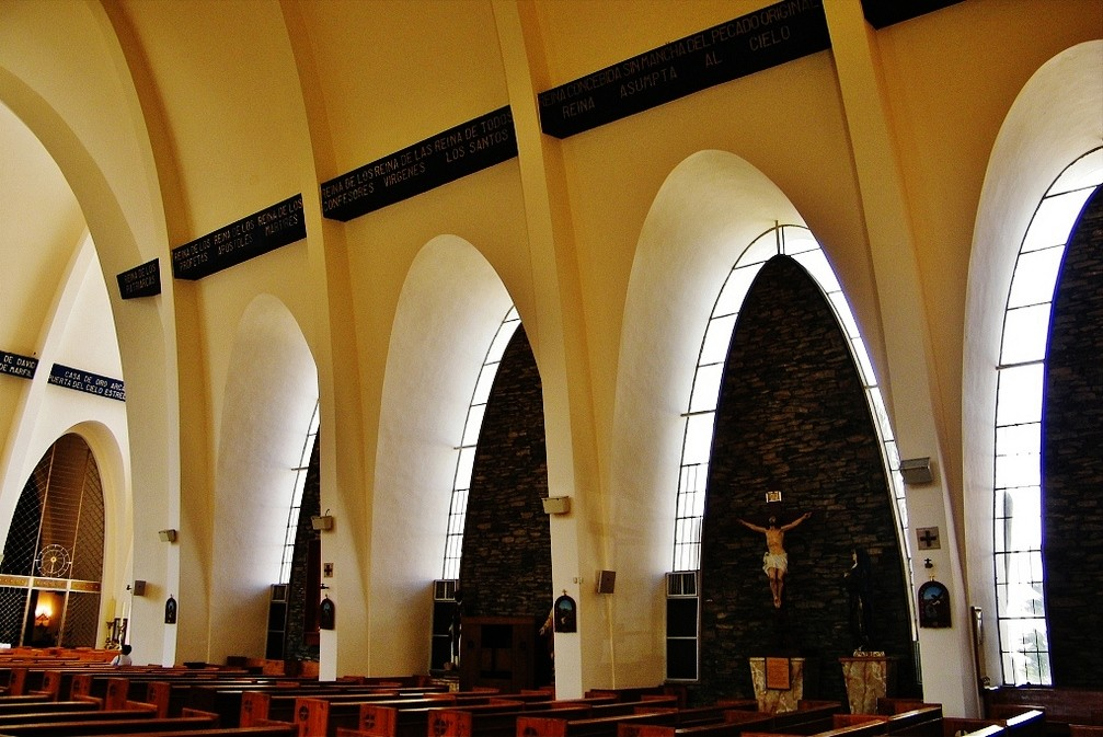 Hidden Architecture Iglesia De La Pur 237 Sima Concepci 243 N