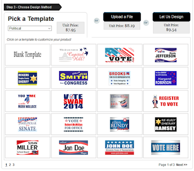 Political Lawn Sign Customizable Templates | Lawnsigns.com