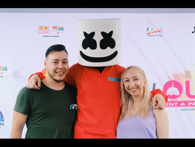 Meet & Greet With Marshmello and Zara Larsson!
